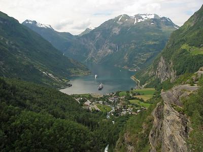 Geiranger (and Hellesylt), Norway - 2007