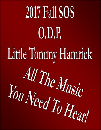 2017 Fall SOS - Tommy Time at the ODP 09-21-2017