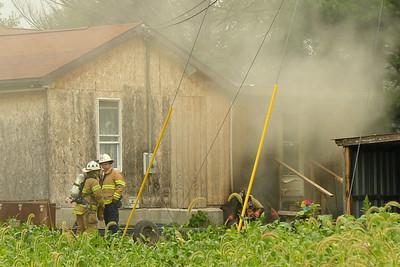 09-07-11 Conesville FD House Fire