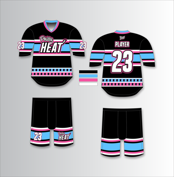 Philly Heat Ice Hockey Jersey and Shorts.png