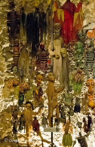 Macabre marionettes on display at Hohensalzburg Castle