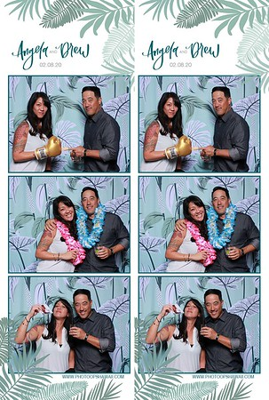 Drew & Angela (Photo Booth)