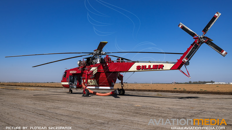 Siller Helicopters / Sikorsky CH-54A Skycrane / N9125M
