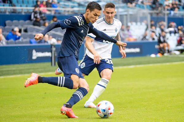 MLS: Sporting KC vs Vancouver Whitecaps