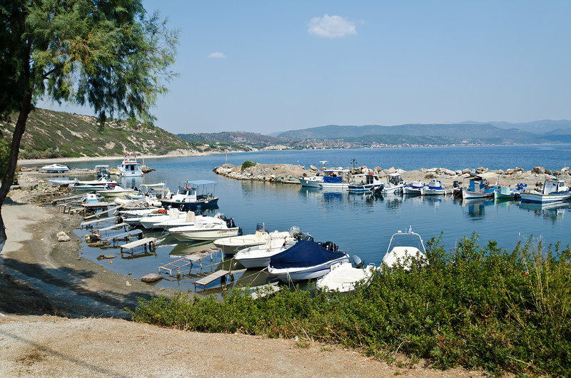 Agios Fokas Port, Lesvos, Greece