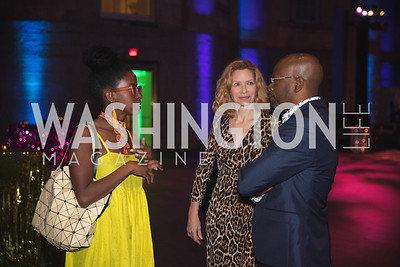 "National Portrait Gallery ""Face Forward"" Artist Party. 