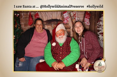 Hollywild Santa Photos - 122019