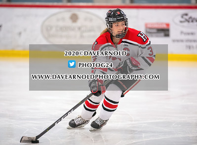 2/12/2020 - Girls Varsity Hockey - Norwell vs Hingham