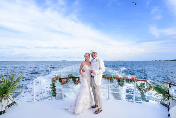 Mr. and Mrs. Allen  |  Aboard the Southern Star. Shell Island.