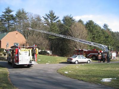 143 North Street, Norfolk - Chimney Fire: January 26, 2007