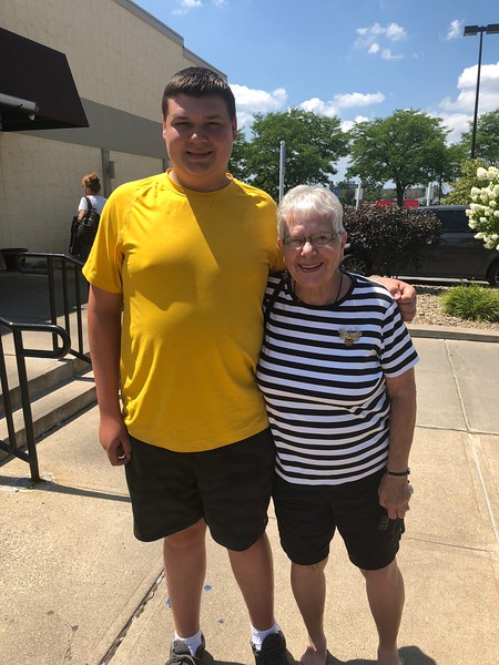 Nick and Grandma