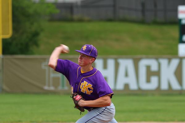 Baseball Districts vs. Hackett - KCHS 6/4/16