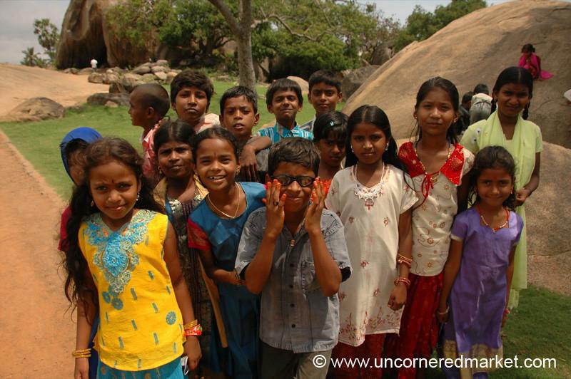 The Future of Tamil Nadu - Mamallapuram, India