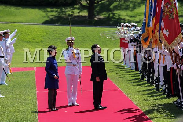Монгол Улсын Ерөнхийлөгч Ц.Элбэгдорж БНСУ-д албан ёсны айлчлал хийж байна