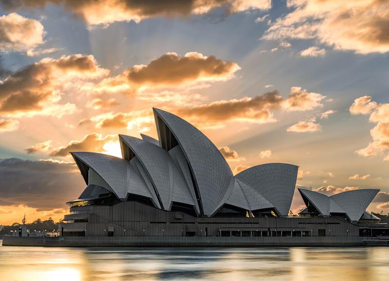 Opera Sunburst || Sydney