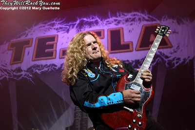 Tesla <br> July 9, 2012 <br> Mohegan Sun Arena - Uncasville, CT <br> Photos by: Mary Ouellette