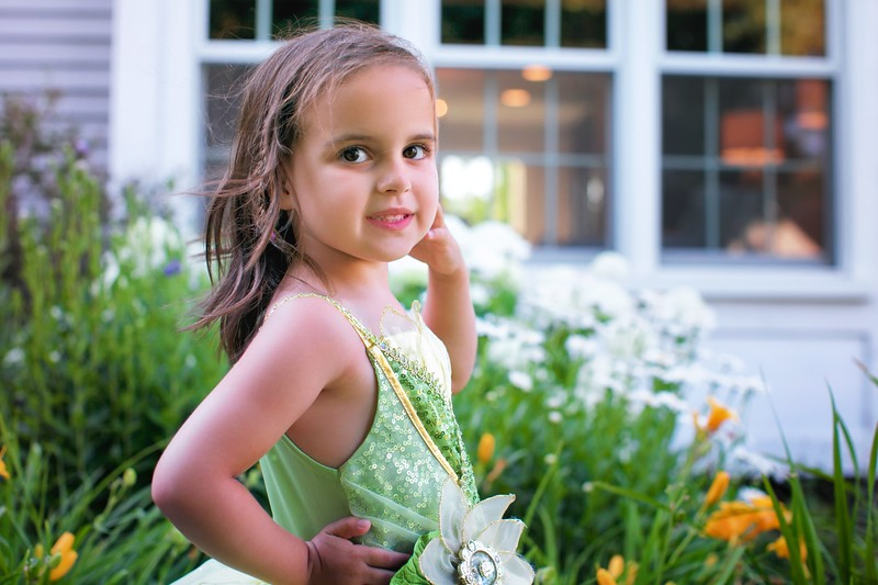 Birthday Princess at 5