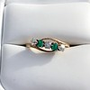 .45ctw Victorian 5 Stone OEC and Emerald Band 13