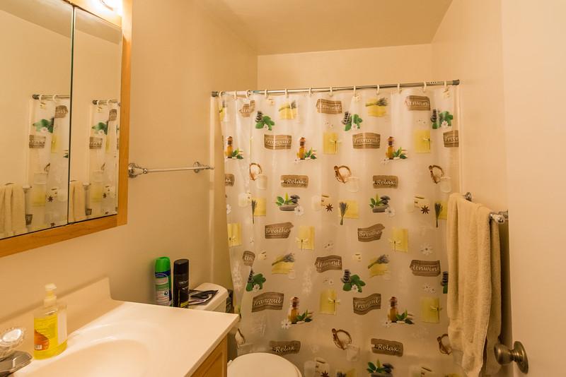 Upstairs hall bathroom