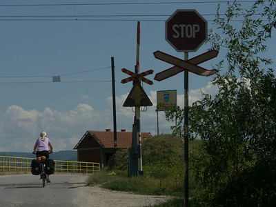 25.08.14 - Tag10, Mo: Vranje (SER) - Kumanovo (MAZ) per VELO