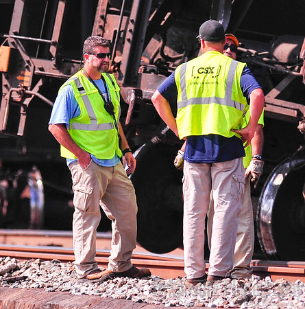 City of McKeesport PA CSX Train Derailment