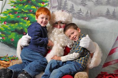 Montecito Heights & Santa's Visit