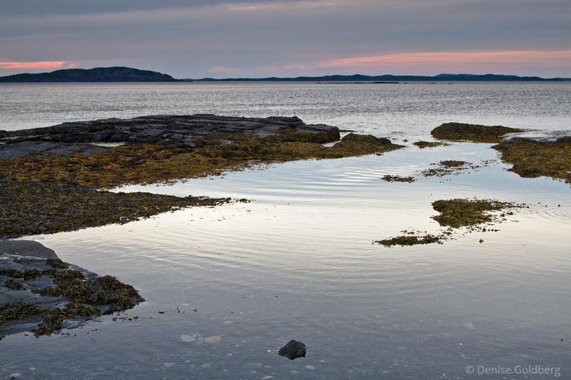 Sunset on the Eastport Peninsula, Newfoundland