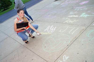 Senior Sidewalk Chalk (May 2019)