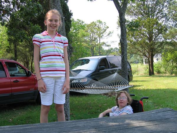 Rachel and Kids at Gwynns Island