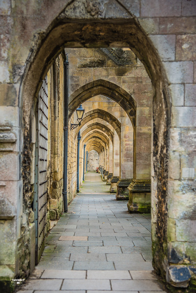 Arched Walkway Winchester Catherdal  Winchester LR-6171.jpg