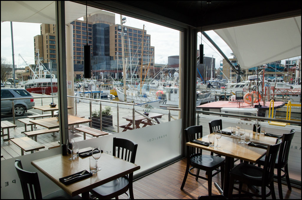 Views of the docks at Pearl + Co.