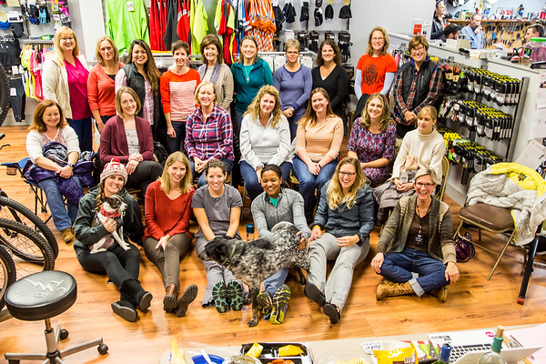 Women's Bike Night 20161214