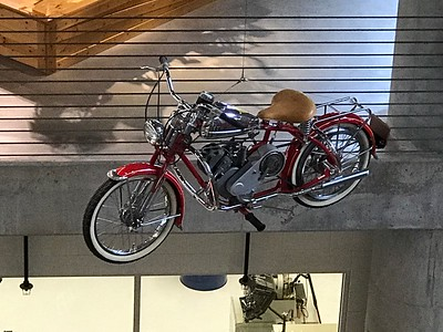 Barber Motorsports Museum, May 2017