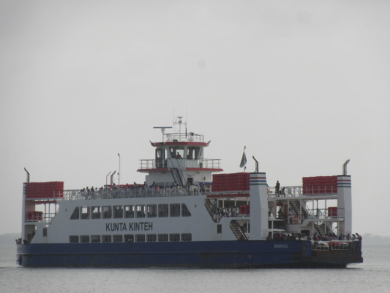 037_Ferry Service Banjul-Barra. The Kunta Linteh Ferry. On the Gambia River. Capacity 2000 passengers.JPG