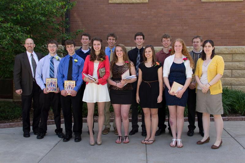 Church School Graduation 2013