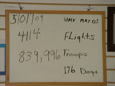 May 1, 2009 2 Flights (11:27 AM & 12:00 PM)