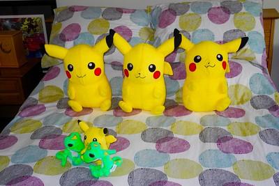 Nintendo Creatures (Pokemon) Toys, 8/21/16