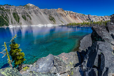 Crater Lake/Wizard Island