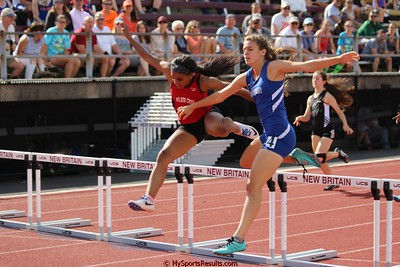 300m Hurdles Girls
