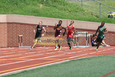 D1 Boys' and Girls' 200 Prelims - 2014 MHSAA LP T&F Finals