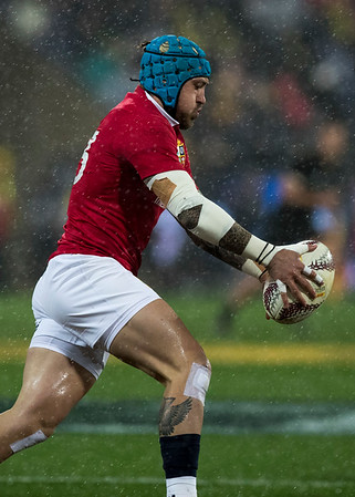 Jack Nowell during game 9 of the British and Irish Lions 2017 Tour of New Zealand, the second Test match between  The All Blacks and British and Irish Lions, Westpac Stadium, Wellington, Saturday 1st July 2017 (Photo by Kevin Booth Steve Haag Sports)  Images for social media must have consent from Steve Haag