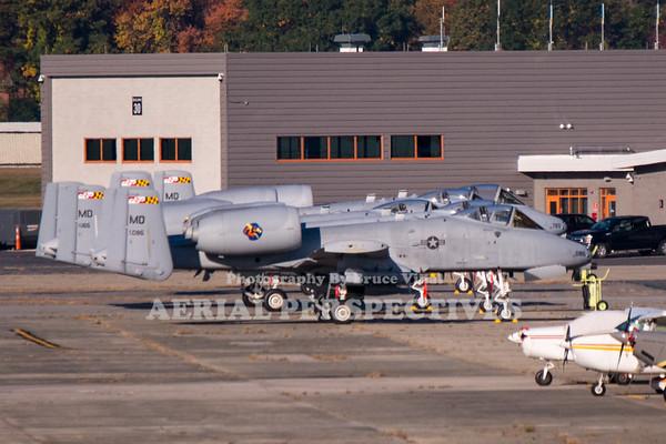 A-10's at Hanscom AFB  10/15/20