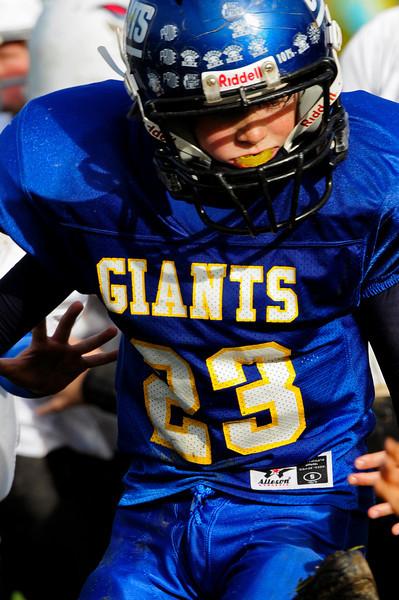 Mighty Mites - Playoffs - Round 2 - Giants v. Titans