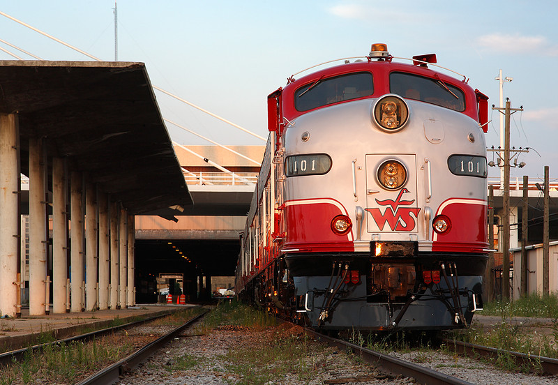 Wisconsin & Southern 101 (EMD E9A)