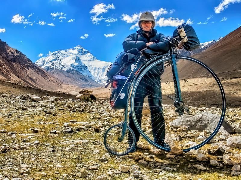 Tibet. Mt Everest