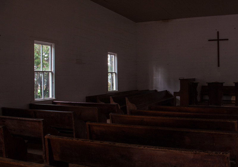 Inside Methodist Church