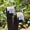 Art Deco Diamond and Emerald Disc Earrings 11