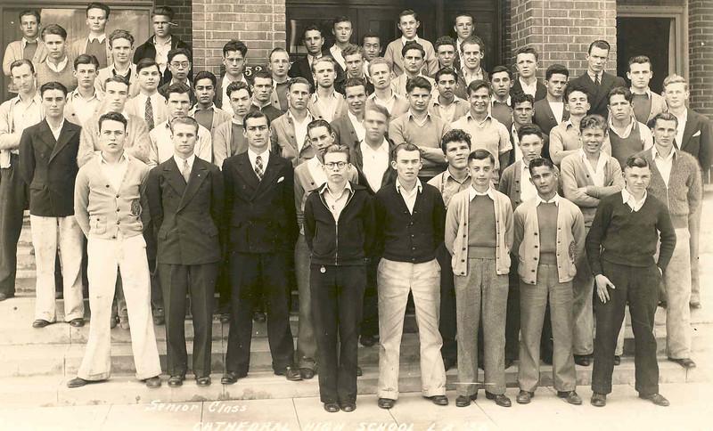1936, Class Portrait