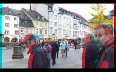 Trier in Anaglyph Stereo