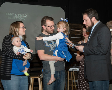 Baby Dedication at Bridge Community Church